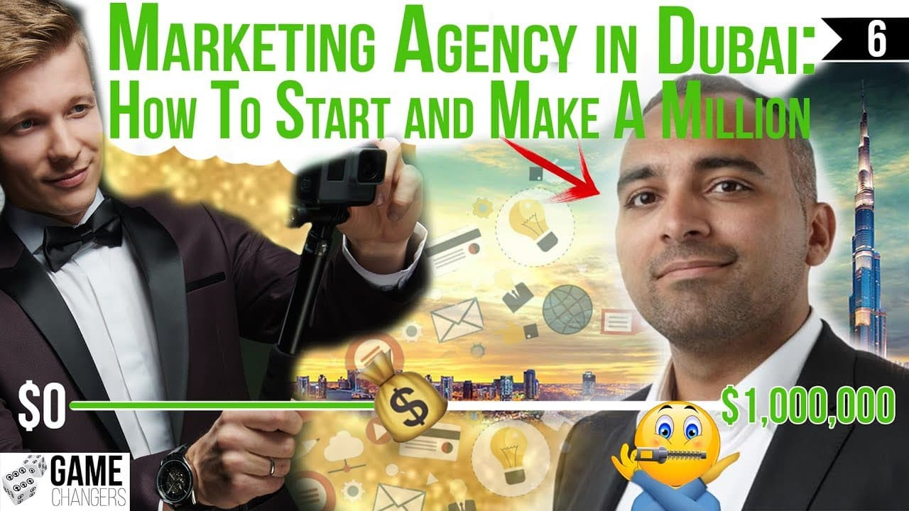 Game Changers - How Marketing Agency Started & Made Their 1st Million