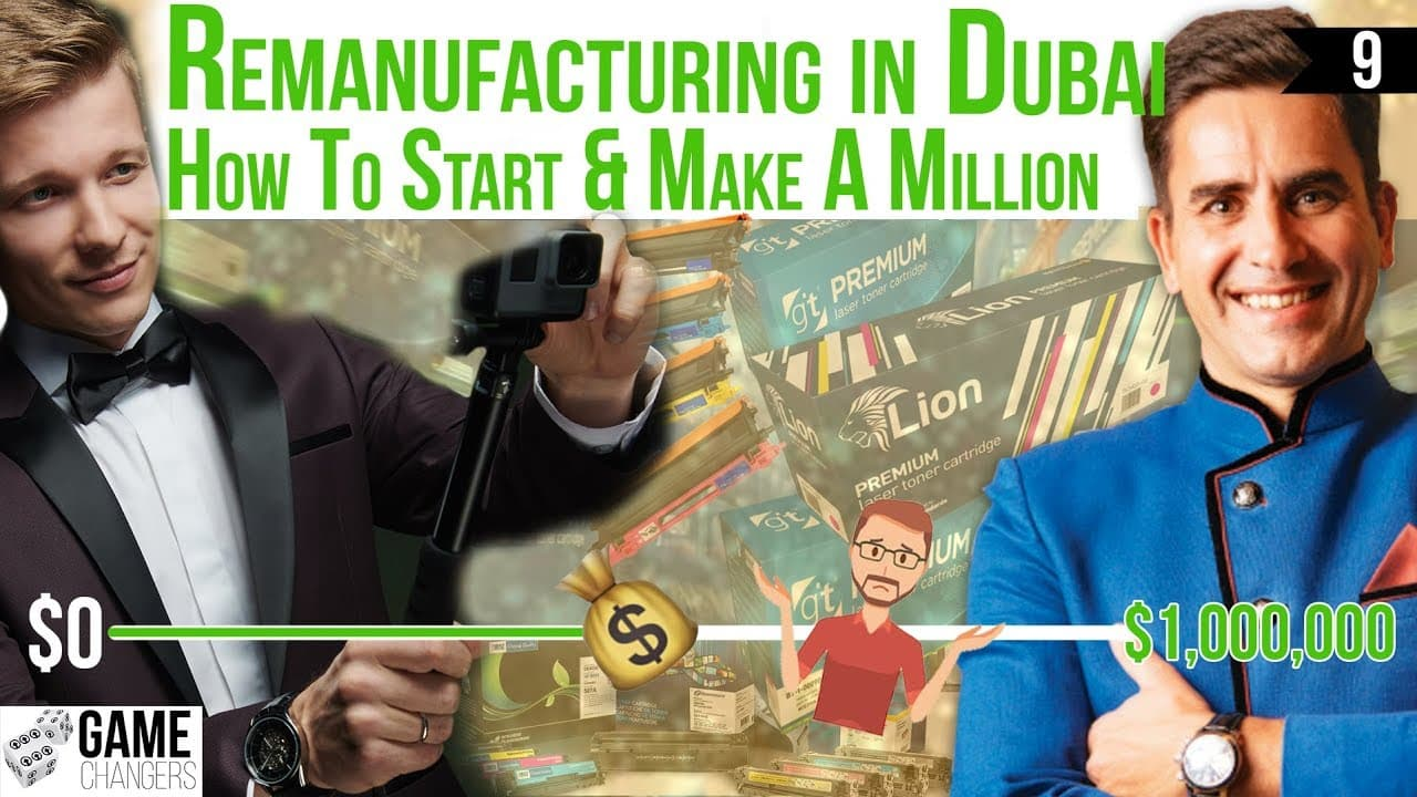 Game Changers - Millionaire Toner Remanufacturer in Dubai